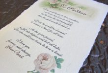 Real parchment poem scrolls