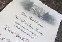 Real parchment wedding scrolls